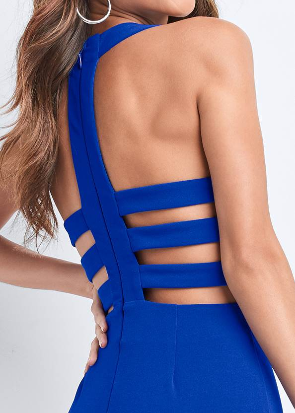 Alternate View Strappy Back Jumpsuit
