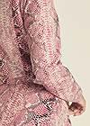 Alternate View Python Print Jacket