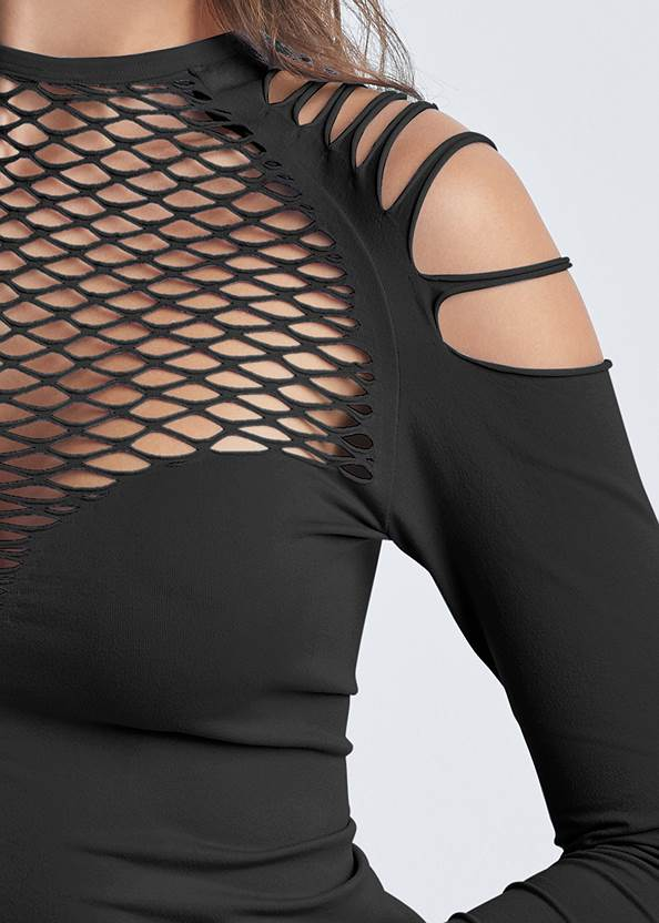 Detail front view Strappy Seamless Top