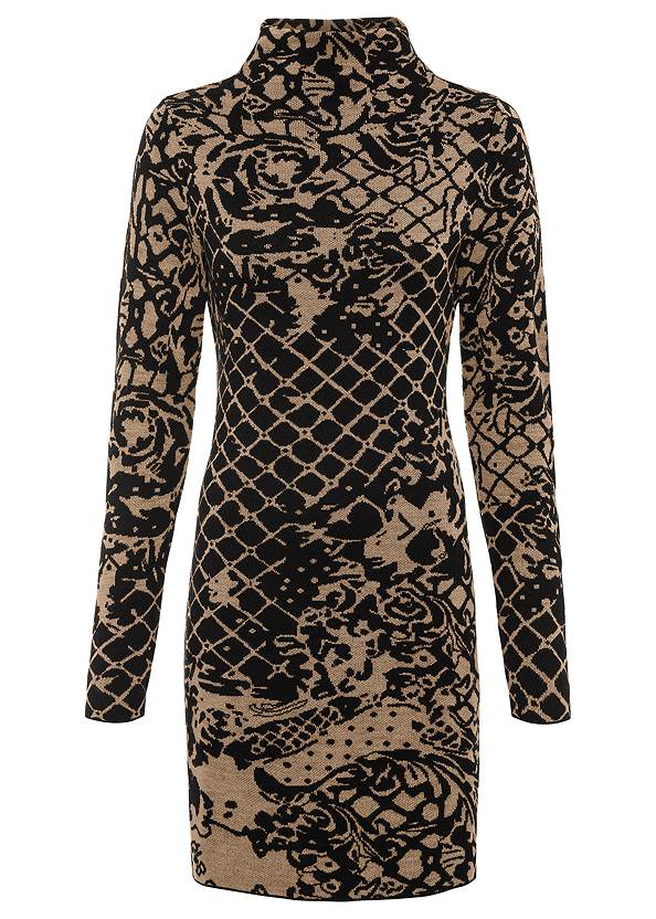 Ghost front view Bodycon Sweater Dress