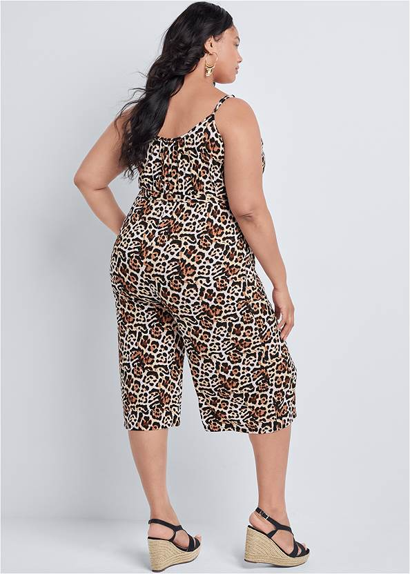 Back View Casual Jumpsuit