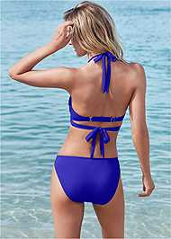 Back View Underwire Wrap Top