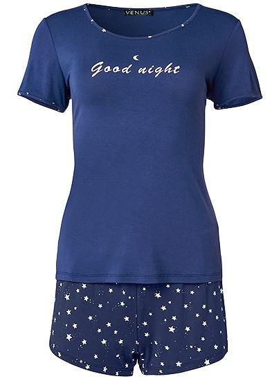Plus Size 3 Pc Sleep Short Set