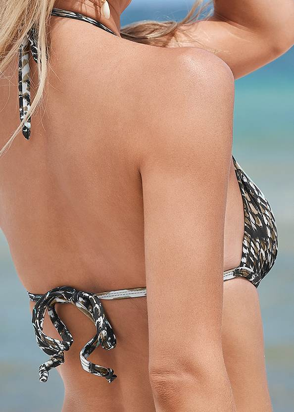 Detail back view Multiway Marilyn Bikini Top
