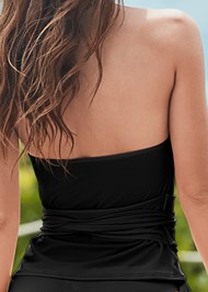 Alternate View Sustainable Wrap Tankini Top