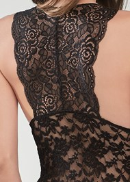 Detail back view Lace Bodysuit