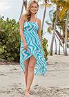 Front View Convertible Cover-Up Dress