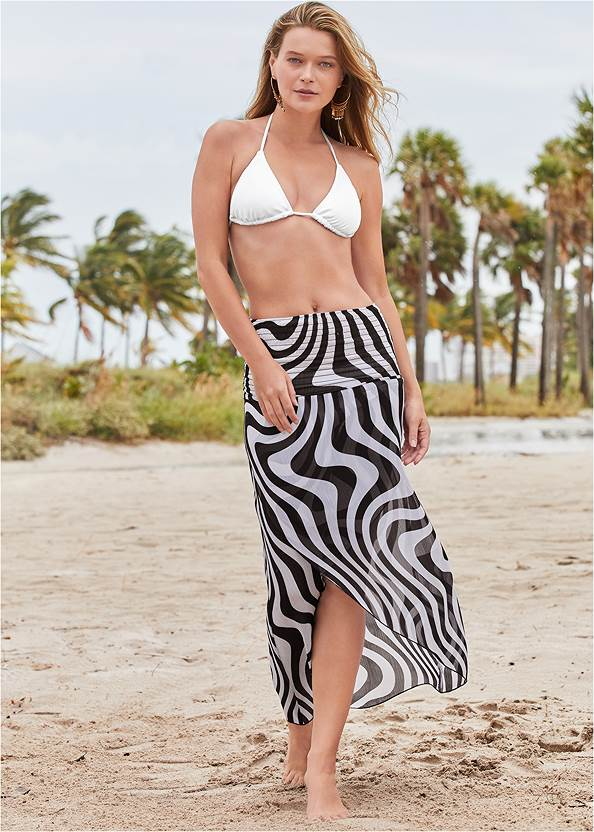 Alternate View Convertible Cover-Up Dress