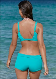 Full back view St Tropez Zip Up Top