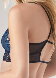 Alternate View Bralette Panty Garter Set