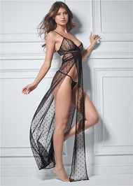 Alternate View Sexy Maxi Gown