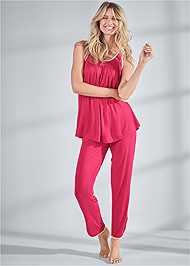 Full front view Sleep Pants Set