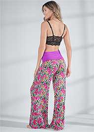 Back View Palazzo Sleep Pant