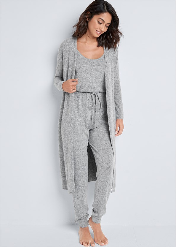 Cozy Hacci Duster,Cozy Hacci Jumpsuit