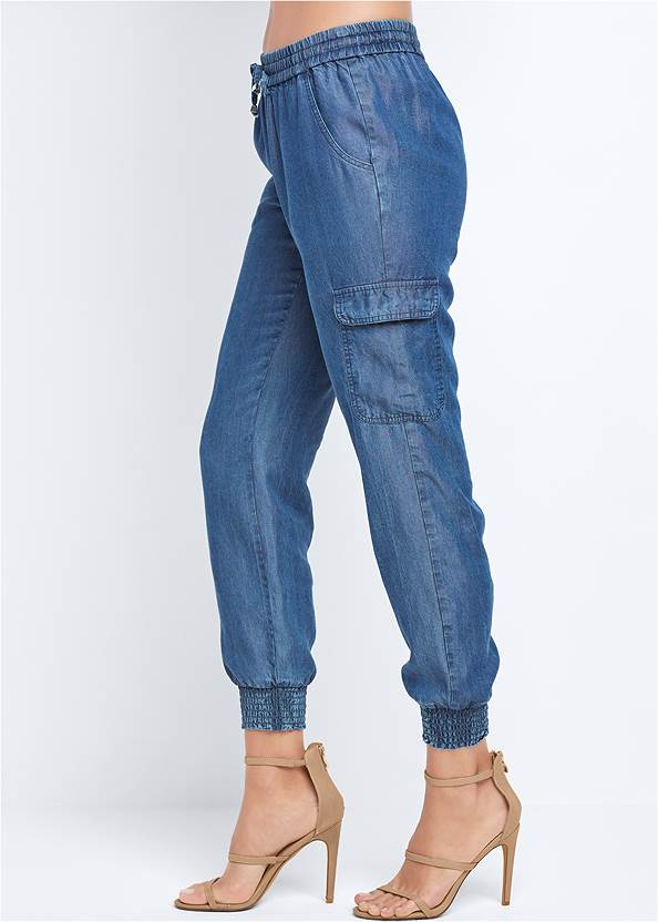 Alternate View Chambray Joggers