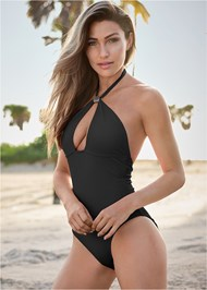 Full Front View Hot Rio One-Piece