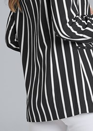 Alternate View Striped Blazer