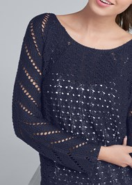 Alternate View Open Knit Sweater