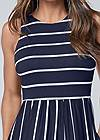 Detail front view Casual Maxi Dress