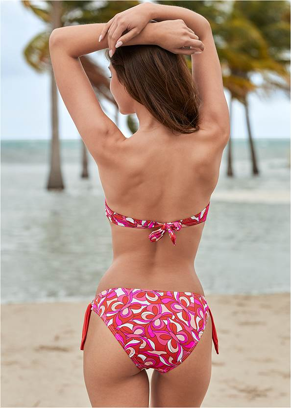 Back View Underwire Bandeau Top