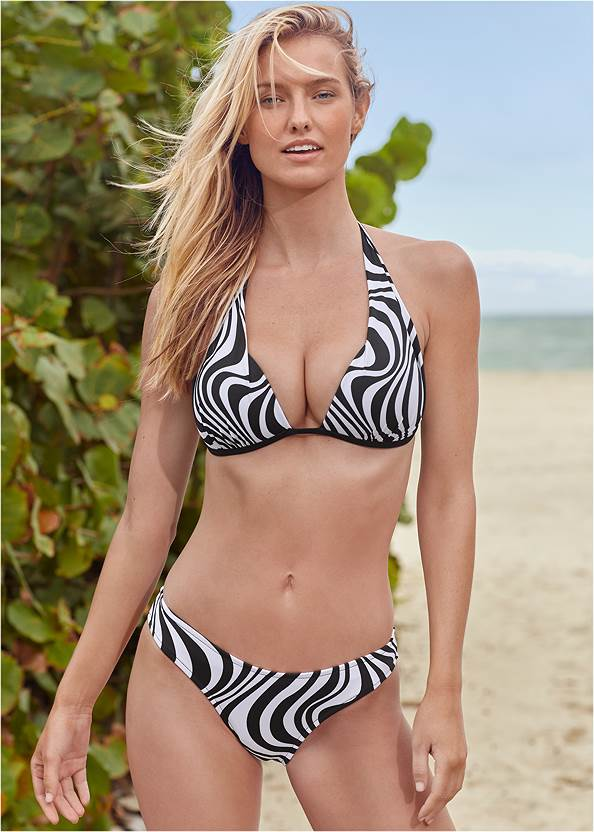 Multiway Marilyn Bikini Top,Scoop Front Classic Bikini Bottom ,Low Rise Classic Bikini Bottom ,String Side Bikini Bottom,Mid Rise Strappy Bottom,Swim Short,Long Wrap Cover-Up Dress,Convertible Cover-Up Dress