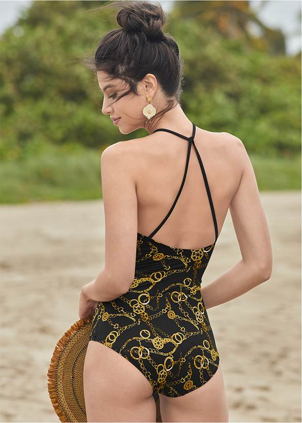 Back View Serene One-Piece