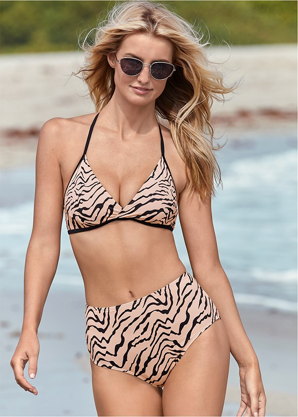 All Day Halter Top,All Day High Rise Bottom,By The Sea Bottom,All Day Banded Bottom,Scoop Front Classic Bikini Bottom ,Mid Rise Hipster Classic Bikini Bottom,Pleated Cover-Up Pant,Jeweled Chain Strap Sandal,Fringe Macrame Bag