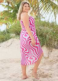 Back View Convertible Cover-Up Dress