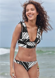 Full front view Versatility By Venus™ Low Rise Ruched Bottom