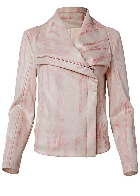 Alternate View Tie Dye Faux Suede Jacket