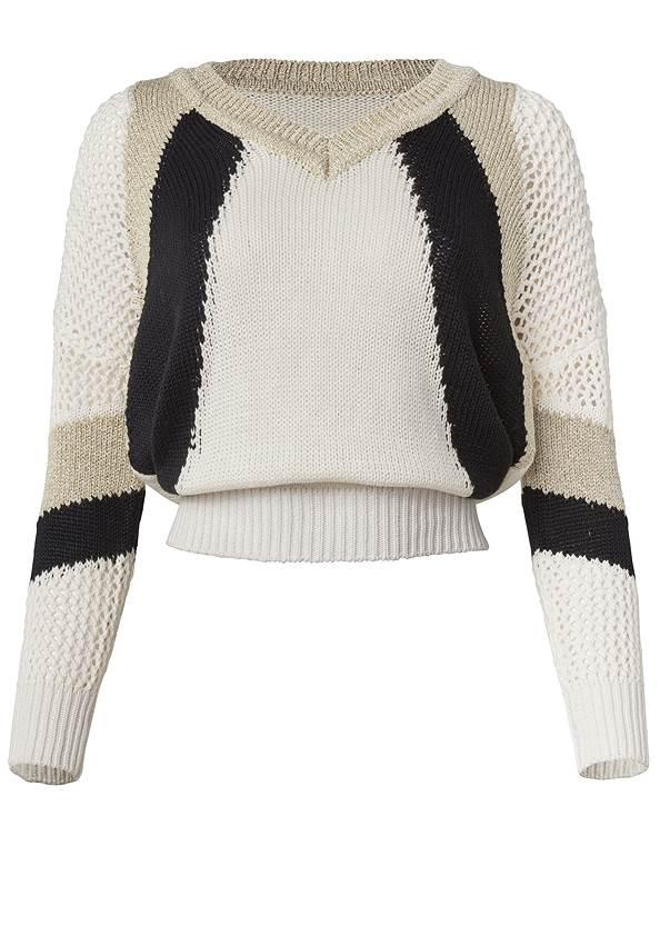 Alternate View Open Knit Detail Sweater