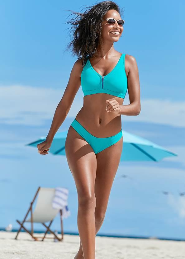 St Tropez Zip Up Top,Scoop Front Classic Bikini Bottom ,Swim Short,Low Rise Classic Bikini Bottom ,Ring Side Bikini Bottom,Jamaica Belted Bottom,Tassel Detail Cover-Up