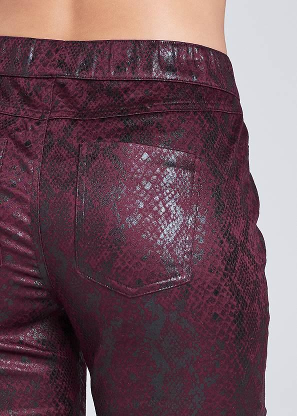 Alternate View Python Faux Leather Pants