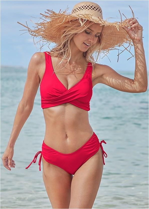 The Magnolia Bottom,Lovely Lift Wrap Bikini Top,Marilyn Underwire Push Up Halter Top,Triangle String Bikini Top