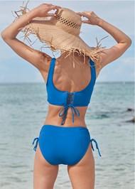 Full back view Lovely Lift Wrap Bikini Top