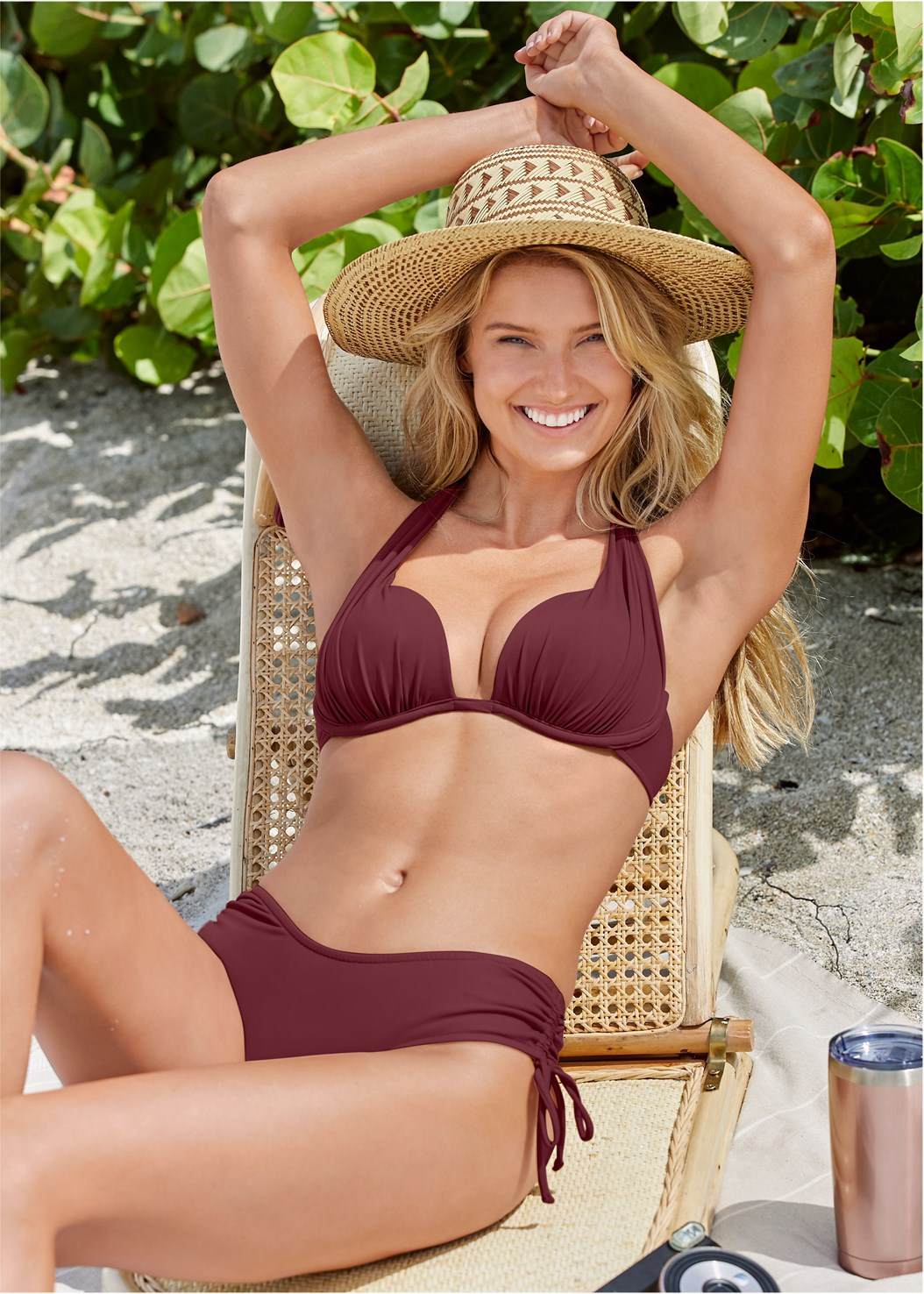 The Magnolia Bottom,Marilyn Underwire Push Up Halter Top,Lovely Lift Wrap Bikini Top,Jillian Underwire Top