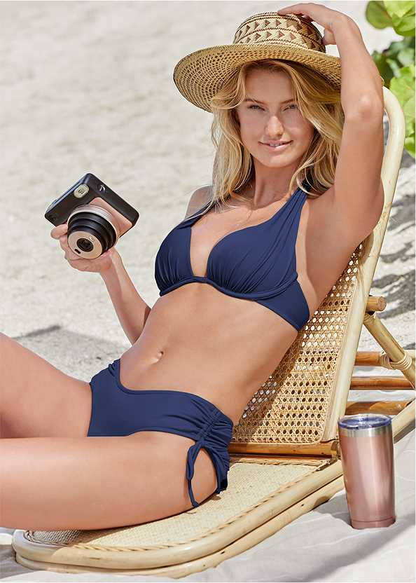 The Magnolia Moderate Bottom,Marilyn Underwire Push Up Halter Top,Lovely Lift Wrap Bikini Top,Jillian Underwire Top