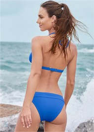 Full back view Banded Moderate Swim Bottom