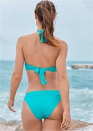 Full back view Banded Swim Bottom
