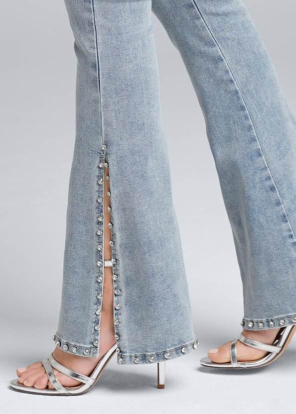 Alternate View Rhinestone Bootcut Jeans