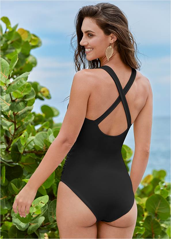 Back View Maximum Shaping One-Piece