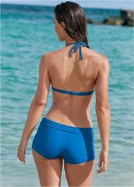 Back View Swim Short