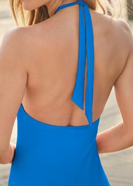 Back View Hot Rio One-Piece