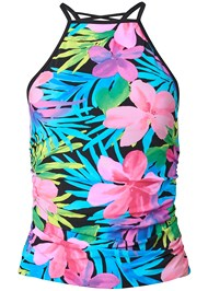 Ghost with background  view Strappy Back Tankini Top