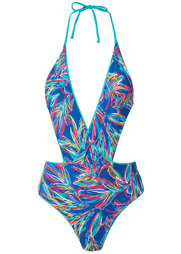 Ghost with background  view Versatility By Venus™ Reversible Monokini