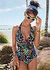 Front View Julie Halter Tankini Top