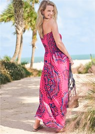 Back View Maxi Dress