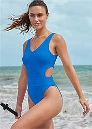 Cropped front view Sport Comfort Slim Suit