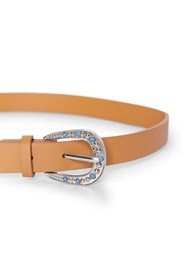 Alternate View Turquoise Buckle Belt