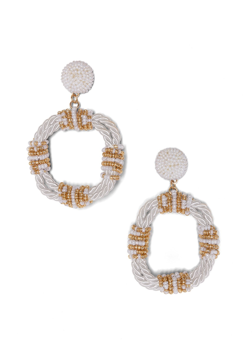Beaded Rope Earrings